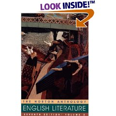 Norton Anthology of English Literature, 7th edition, Volume 2